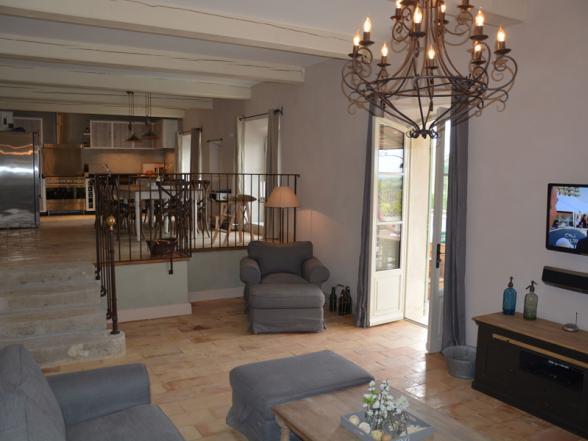Vakantiehuizen provence mont ventoux vaucluse beaumes de venise - Gezellige badkamer ...